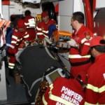 6 persoane au fost rănite ușor la Poiana Ampoiului după ce un microbuz s-a ciocnit cu un camion pe DN74