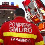 Un bătrân din Ampoița a ajuns la spital după ce a căzut de pe scară