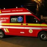 Două persoane rănite, după o coliziune între trei mașini petrecută pe DN 74, la Ampoița