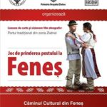 12 noiembrie 2016: Căminul Cultural din Feneș va fi gazda unui eveniment dedicat reconstituirii vechiului port popular din zona orașului Zlatna