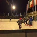 """Primăria orașului Zlatna a redeschis patinoarul situat lângă Stadionul """"Minaur"""", pentru un nou sezon"""