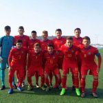 Mijlocaşul zlătnean Andrei Mărginean a fost titular în reprezentativa România Under 16 contra reprezentativei Italiei Under 15, scor 0-1