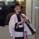 Andrei Haneş, taragotistul de 14 ani din Zlatna, prezent la Noaptea Muzeelor de la Alba Iulia alături de personajul Avram Iancu