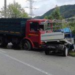 Un bărbat a decedat în urma unei coliziuni dintre două autoutilitare, petrecută pe DN 74 la Poiana Ampoiului