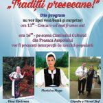 """Luni, 9 aprilie 2018, are loc la Presaca Ampoiului cea de-a XIII-a ediție a sărbătorii """"Tradiții Presecane"""""""
