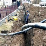 Odată cu venirea primăverii, au reînceput lucrările de alimentare cu apă în comuna Bucium