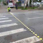 Tânără de 25 de ani din Zlatna cercetată de polițiști, după ce a accidentat două persoane pe o trecere de pietoni din Alba Iulia